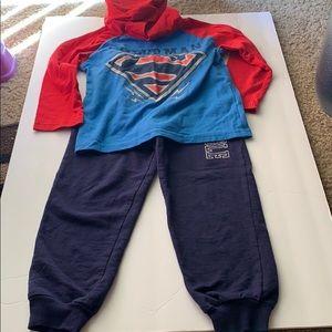 Boys Superman Matching Set